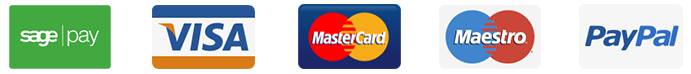 Sagepay, visa, mastercard, maestro, americal express, paypal, Interlink, royal mail