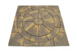 Easypave Dalepave Craggstone Circle - <p>