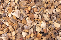 Deco-Pak Golden Flint Gravel - <p>