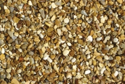 Deco-Pak Golden Gravel - <p>