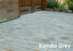 Easypave Kandla Grey Cobbles - <p>