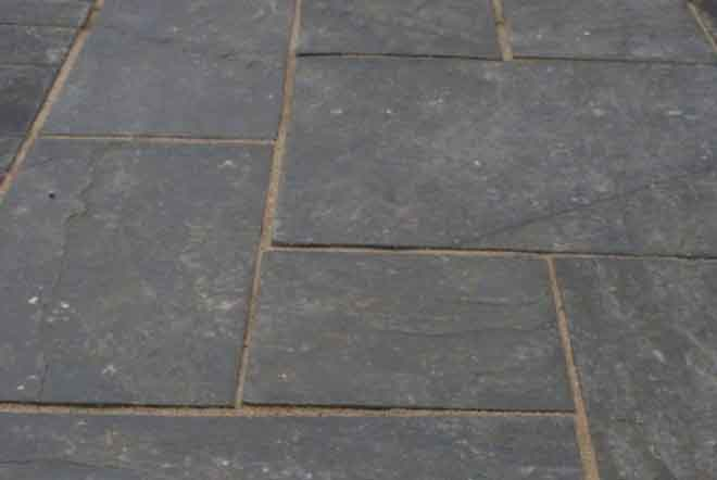 Easypave Hand Split Blue Slate - <p>
