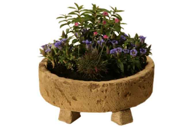 Lonstone Round Planters - <p>