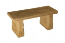 Natural Complete Small Straight Bench Set