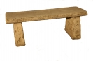 Natural Complete Straight Bench Set