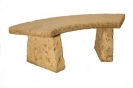Natural Complete Curved Bench Set