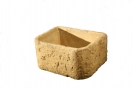 Natural Large Bullnose Planter
